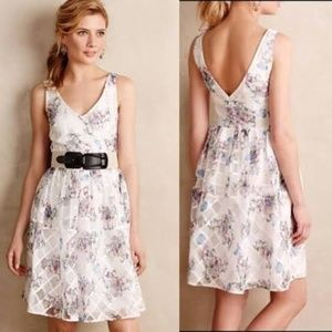 Anthropologie Meave Peony Garden Dress NEW!